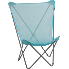 Lafuma Mobilier Maxi Pop Up - Siège camping - Batyline gris/turquoise